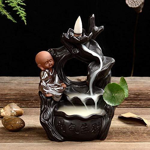Buy Individual aromatherapy stove Creative Reflow Ceramic Incense Burner Gas Rich Household Agarwood...
