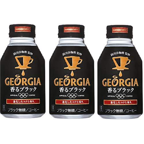 コカ・コーラ ジョージア 香るブラック 260mlボトル缶 ×3本