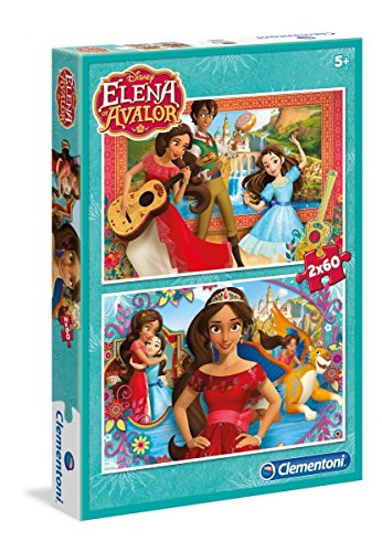 Clementoni 07132 07132-Supercolor Elena of Avalor