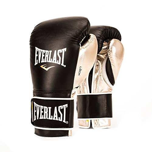 Everlast PowerLock Pro Training Gloves 12oz blk/Gld PowerLock Pro Training Gloves