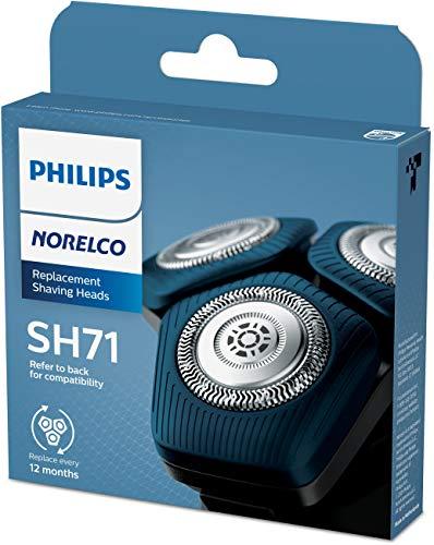 Philips Norelco Cabeça de barbear para barbeador Série 7000 e Série Anular 5000, SH71/52