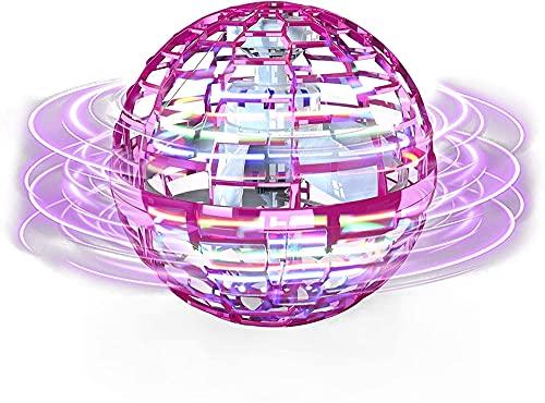 Controlador de bola voladora mágica, LED intermitente de juguete con varita mágica Flynova Pro, con sensor de infrarrojos, con regalos giratorios de 360 °, juguetes familiares al aire libre