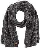 CMP Bufanda de punto 25% lana, Mujer, Bufanda, 5545228, Gris oscuro, talla única