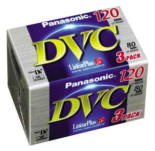 Panasonic AY-DVM80FE3 Mini-DVC (80min, Linear Plus)