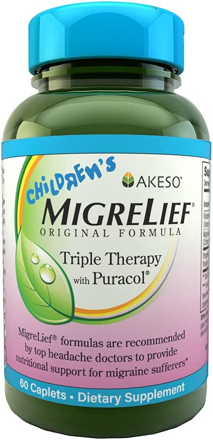 Children's MigreLief® - Triple Therapy Washington Mall Max 76% OFF with N Puracol™