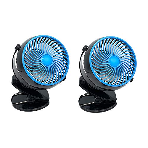 Spark Innovators Go Fan - Rechargeable Lithium Ion Fan - (2) Pack - As Seen on TV