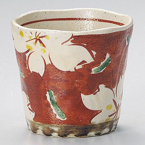 赤絵桜ロックカップ [9.8 x 9cm 340�t 280g] 【ロックカップ】 | 料亭 旅館 和食器 飲食店 おしゃれ 食器 業務用