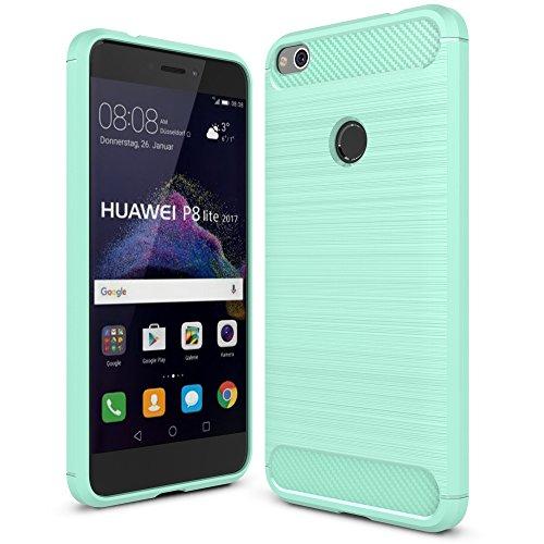 IVSO Huawei P8 Lite 2017 Custodia, Protettiva Case Cover Custodia in Silicone per Huawei P8 Lite 2017 Smartphone