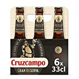 Cruzcampo Gran Reserva Cerveza - Pack de 6 Botellas x 330 ml (Total: 1.98 L)