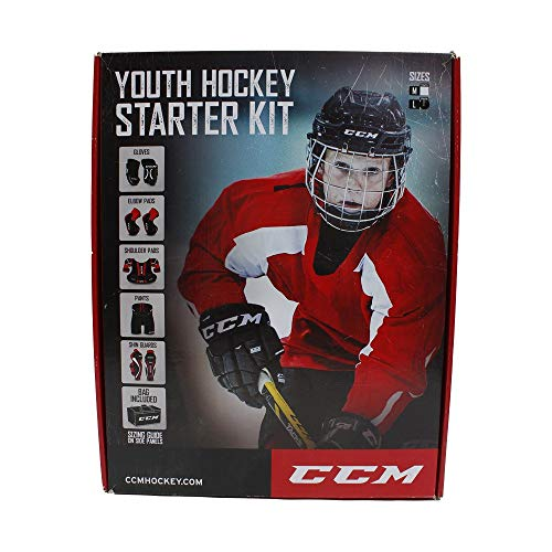 CCM Youth Hockey Starter Kit, Größe:XL