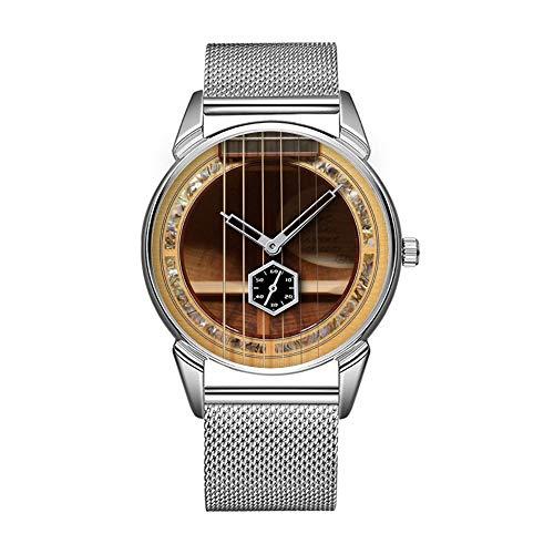 Mode wasserdicht Uhr minimalistischen Persönlichkeit Muster Uhr -822. Soundhole Breedlove C20 KOA-SEA verlässt die Gitarre