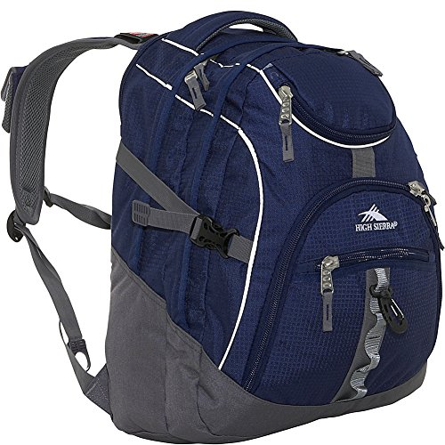 High Sierra 2743-Cubic Inches Access Daypack ,True Navy/Charcoal, 20x15x9.5-Inch