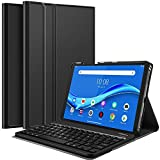 IVSO Keyboard Case for Lenovo Tab M10 Plus (QWERTY), Slim