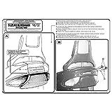 GIVI Portaequipajes Monolock para Suzuki AN 250-400 Burgman (98-02)