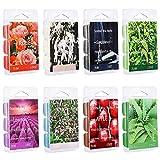 Djvn - Velas de cera de soja perfumada para derretir, aroma de manzana de aloe y té verde, madera de sándalo rosa, vainilla, 20,5 × 7,5 × 2,5 cm, color como se muestra en la imagen