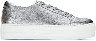 Kenneth Cole New York Womens KL02002MB Abbey Platform Lace Up Sneaker Metallic- Techni-Cole Silver Size: 6.5