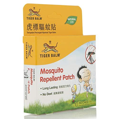Natural Repelente de mosquitos parche diseño de tigre marca, 10unidades individual wrapped-safe para bebé children-for al aire libre, jardín, Camping, Picnic, vacation-product de Singapur