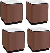4 Stuks Meubelverhoging van Koolstofstaal,Zelfklevende Meubelpoten,Metalen Kastpoten,Keuken Voeten,Vervanging voor Kast,Ta...