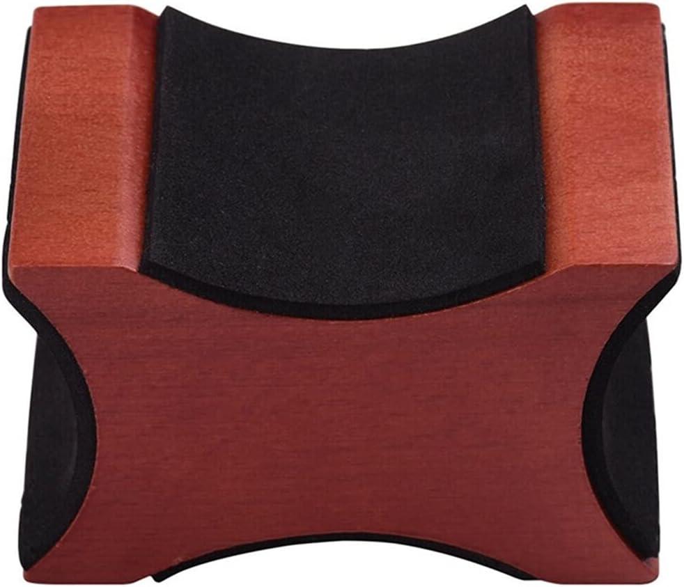 Universal y portátil El marco de soporte de cuello de guitarra es adecuado para herramientas eléctricas de instalación y mantenimiento de instrumentos de guitarra acústica de ukulele Desmontable y fác