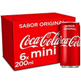 CocaCola Original Refresco Minilata, 6 uds