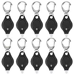 Uniclife 10er Pack Mini Keychain