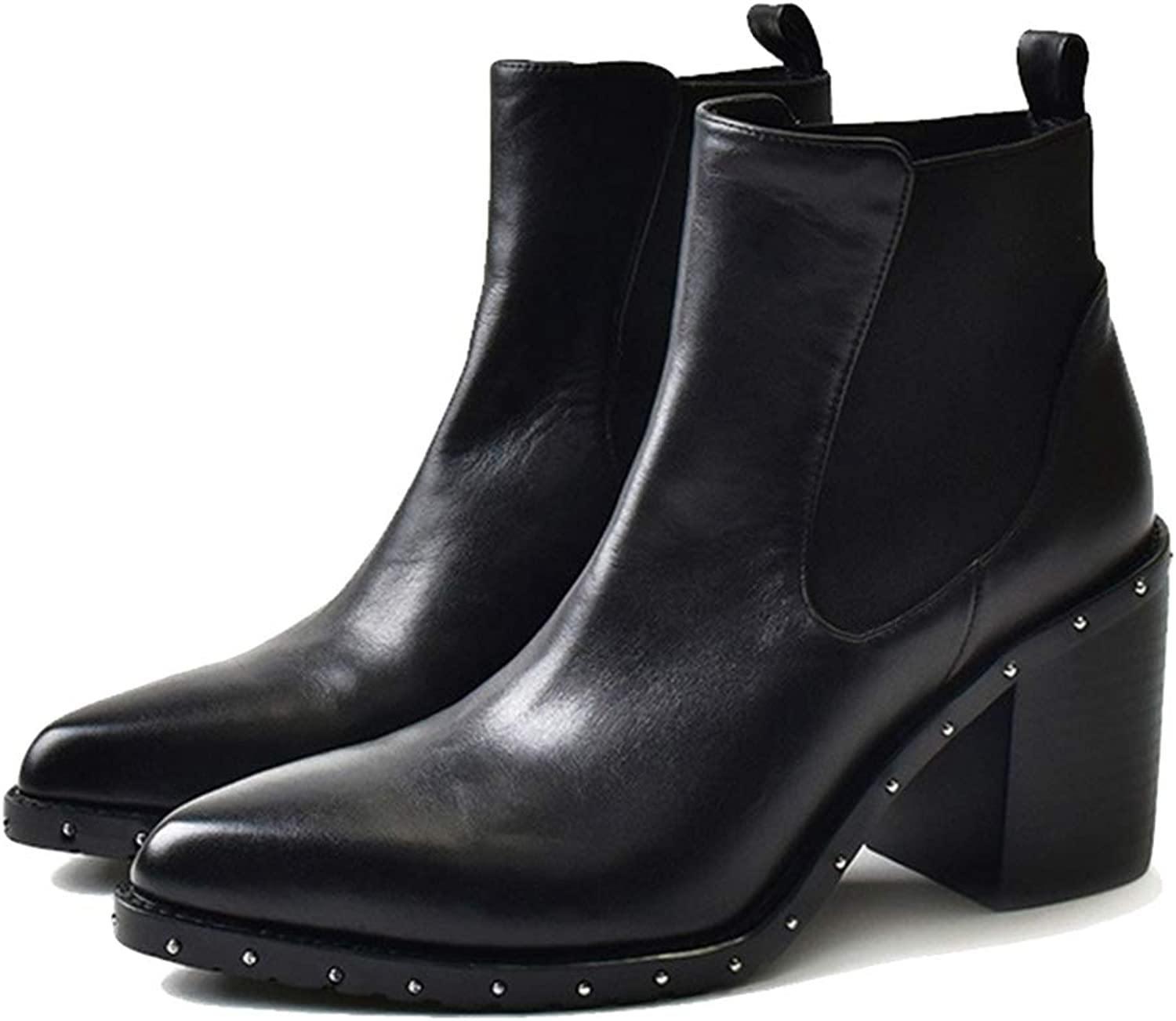 Kyle Walsh Pa Women Ankle Boots Slip On Casual shoes,Gladiator Round Toe