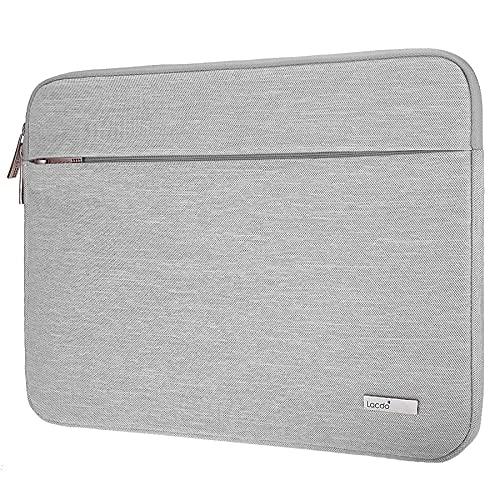 """Lacdo 13.3 polegada Capa Bolsa para Velho 13"""" MacBook Pro 2012-2015/MacBook Air 2010-2017, 13.5"""" Surface Book/Laptop 3 2 1, 13.3"""" HP Envy X360, Dell Lenovo Acer ASUS Notebook Laptop, Cinzento"""