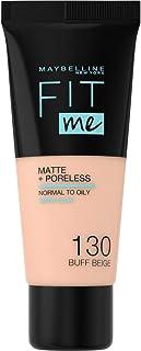 Maybelline Fit Me Liquid SPF-18 Foundation - 130 Buff Beige