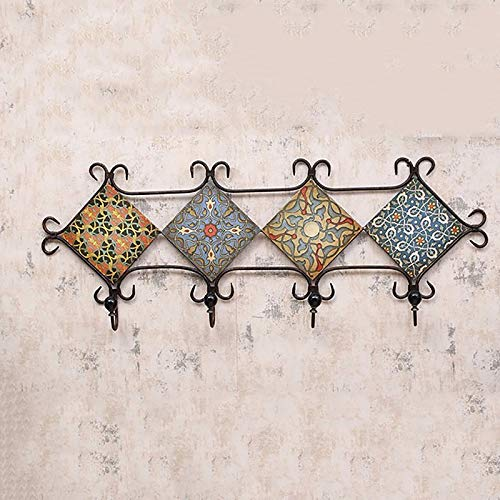 INTASHJ Wall decoration LOFT industrial style Vintage iron hook In-house coat rack Entrance wall coat hook