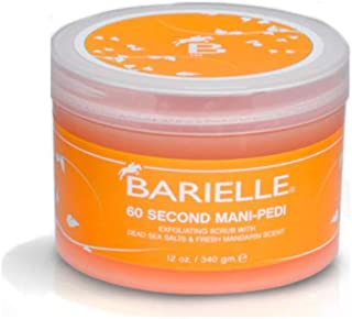 Barielle 60 Second Mani-Pedi Dead Sea Salt Scrub 12 Ounce