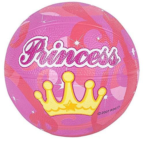 Rhode Island Novelty Balón de Baloncesto Mini Princesa (5 Pulgadas ...
