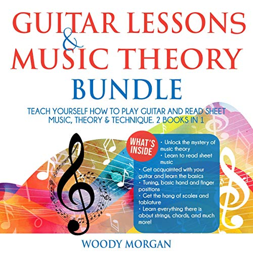 Guitar Lessons & Music Theory Bundle cover art