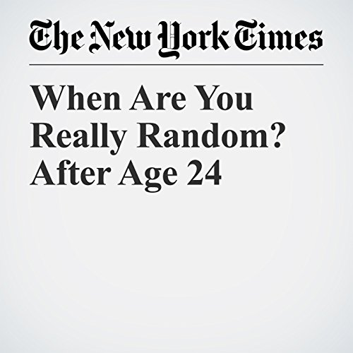 When Are You Really Random? After Age 24 copertina