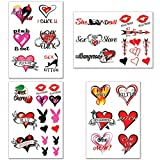 40+ Sexy Naughty Temporary Tattoos for Women Ladies- Adult Fun for Lower Back Legs Arms Butt Stomach