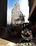 9/11 FDNY Firefighter at World Trade Center, 20 x 25 cm,