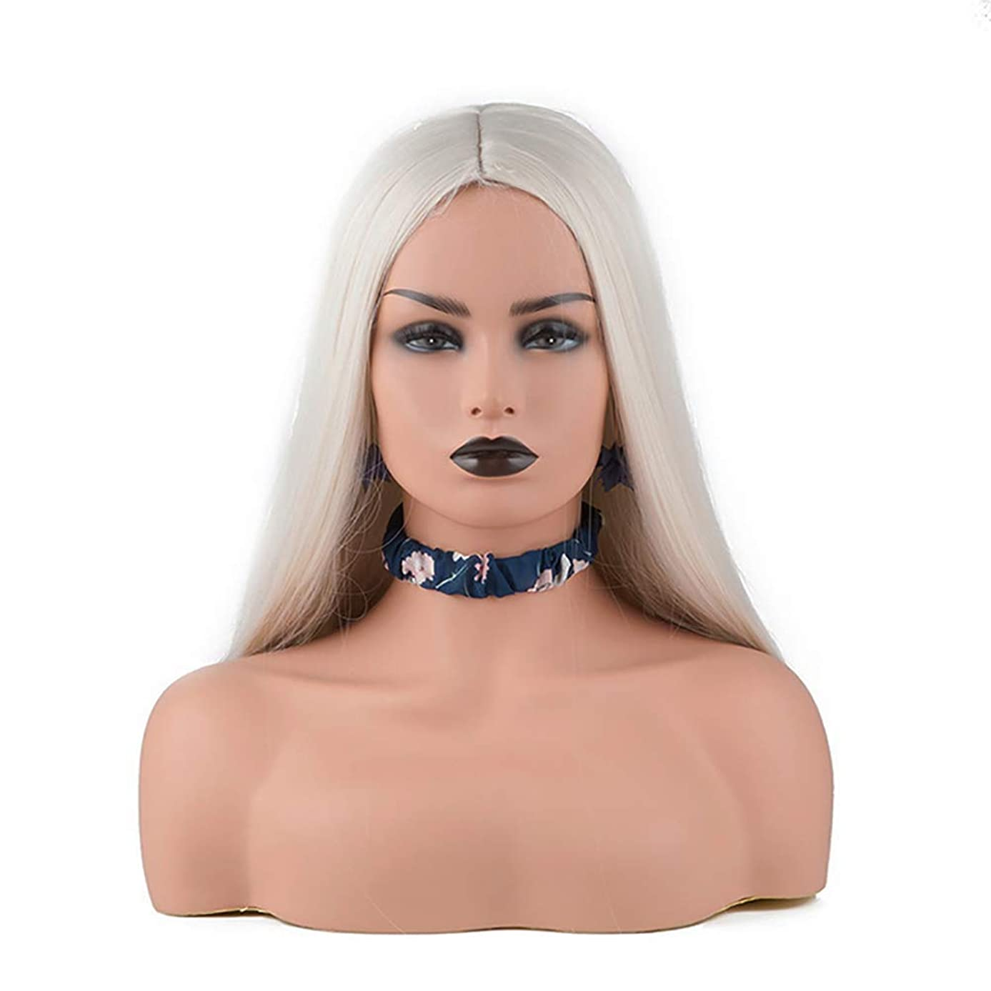 Mannequins Head, Mannequin Female Head Model for Display Adjustable Tripod Stand Head Stand for Displaying Wigs Hats Jewelery and Scarves