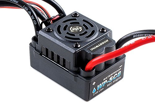 Hobbywing EZRUN WP-SC8 Waterproof 120A Brushless ESC Speed Controller For 1:10 Car Buggy Truck by Hobbywing
