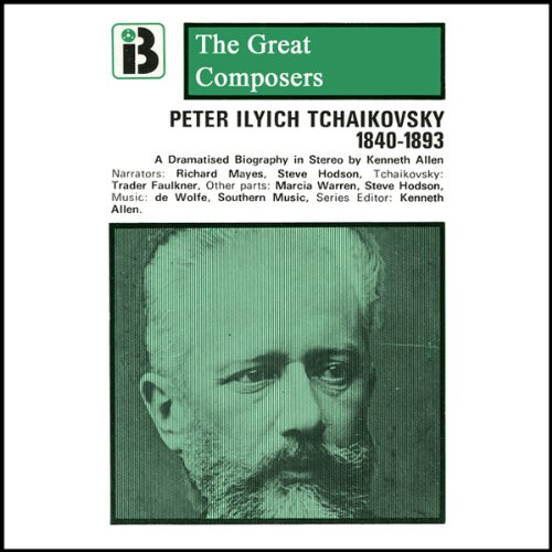 Peter Ilyich Tchaikovsky cover art