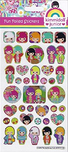 Stickers - Kimmidoll junior - Contrecarré - S01.70.06.089 - Projets papier