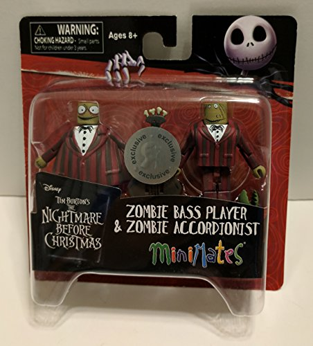 Minimates Nightmare Before Christmas Zombie Musicians TRU Exclusive Minifigures