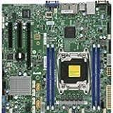 Supermicro X10SRM-F-B LGA2011/ Intel C612/ DDR4/ SATA3&USB3.0/ V&2GbE/ MicroATX Server Motherboard