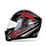 SISISWEET Doble Visera Casco Moto Modular,Casco de Moto, Casco Integral...