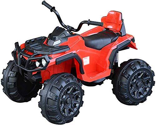 Con luces de radio MP3 eléctricas de cuatro núcleos de cuatro núcleos, automóvil eléctrico, hombres y mujeres, hombres y mujeres, juguetón, coche de juguete,Red