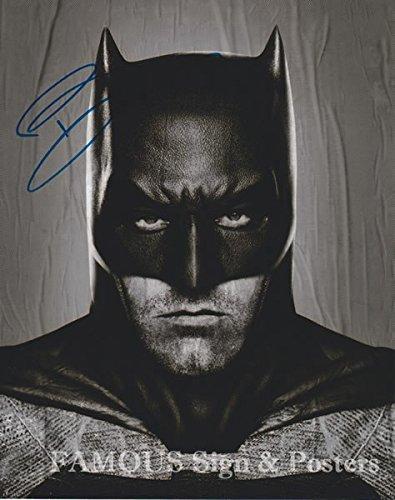 直筆サイン入り写真 ベン・アフレック (バットマン vs スーパーマン ジャスティスの誕生)【証明書(COA)・保証書付き】