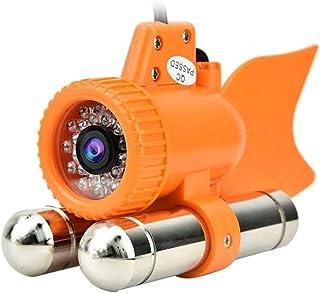 Cámara Subacuática,12 LED 1000 TVL HD Cámara Subacuática Video en Color Visión Nocturna Buscador de Peces Dc12v(20m)