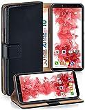 moex Klapphülle kompatibel mit Samsung Galaxy J6+ Hülle