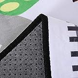 HMBBDT Teppich, Krabbeldecke Fürs Kind, Spielmatte/Baby-Krabbelteppich/Wohnzimmer-Bodenmatte/Kinderteppich Straßenteppich Spielunterlage Kinderzimmer - 2