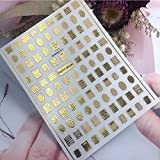 Letras 3D en caja bordadas de pegamento trasero...