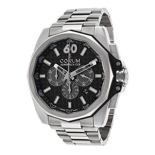 Corum Admiral's Cup Automatic Chronograph Titanium Mens Watch...