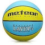 meteor Balón Baloncesto Talla 4 Pelota Basketball Bebe Ball - para niños y jouvenes para Entrenar y Jugar - Talla 4 Layup